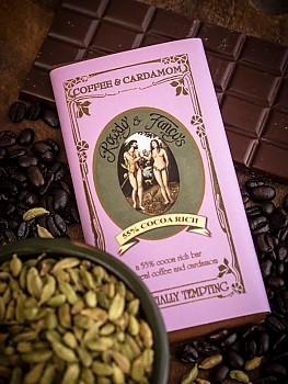 coffee cardamon artisan chocolate